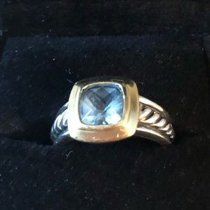 David Yurman, Blue Topaz ring